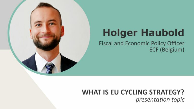 Veloforum 2017 speakers. Holger Haubold