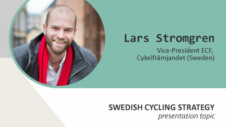 Veloforum 2017 speakers. Lars Stromgren
